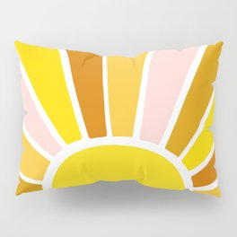 Sun Ray Burst Pillow Sham