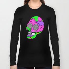Psych Skull Long Sleeve T-shirt