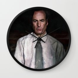 The Encroaching Darkness - Better Call Saul Wall Clock