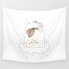 Inner Peace Is Priceless Wall Tapestry
