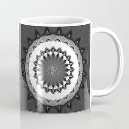 Gray Kaleidoscope Art 31 Coffee Mug
