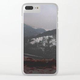Valea Sangelui II Clear iPhone Case