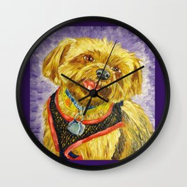 One Tooth Smile Wall Clock