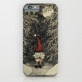 """Tomten Elmer"" call of nature. iPhone Case"