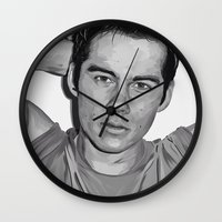 dylan Wall Clocks featuring Dylan  by Finduilas