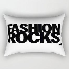 Fashion Rocks Rectangular Pillow