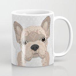 Beige Frenchie Puppy 001 Coffee Mug