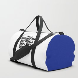 Didn't Use Algebra Once Funny Quote Duffle Bag