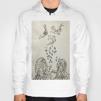 under the sea Hoodies featuring Under The Sea Sketch by ANoelleJay