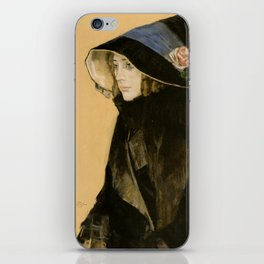 Leo Gestel - Portrait of a Young Woman iPhone Skin