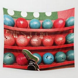 BOWLING BABY Wall Tapestry