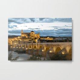 Córdoba, Andalusia, Spain. Metal Print