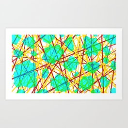 Neuronic Art Print