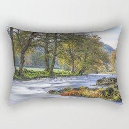 Autumn River Rectangular Pillow