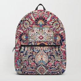 Kashan Central Persian Rug Print Backpack