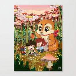 Little Story 01 : Chibi Tale Canvas Print