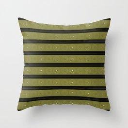 Black sun sibling Throw Pillow