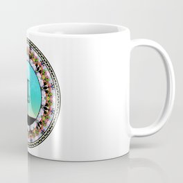 Disc Golf Basket Coffee Mug