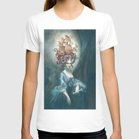 marie antoinette T-shirts featuring Marie Antoinette by Iris Compiet