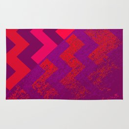 rational meets irrational (in red) Rug