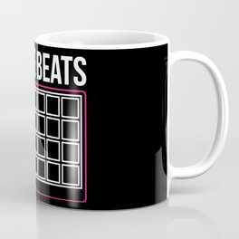 I make beats - Funny Beat Producer DJ Gifts Coffee Mug