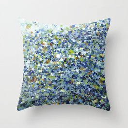 Leo Carrillo Dotted Beach Pattern Throw Pillow