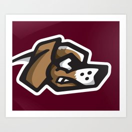 Scrappy Beagles Logo Art Print