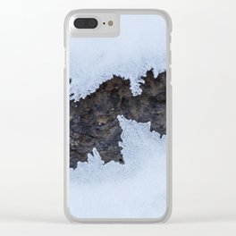 Ice Age Clear iPhone Case