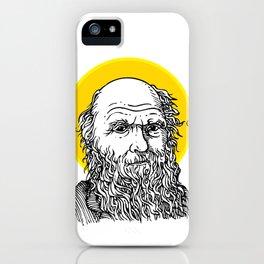St. Darwin iPhone Case