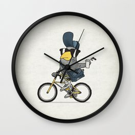 Courier Pigeon Wall Clock