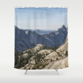 The Other Side of Half Dome Shower Curtain