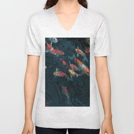 Koi Dreams Unisex V-Neck