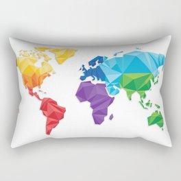 World of geometric concept design  Rectangular Pillow