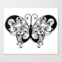Artistic Butterfly Canvas Print