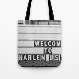 Welcome to Harlem Tote Bag