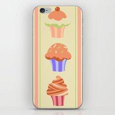 Yummy Cupcakes iPhone & iPod Skin