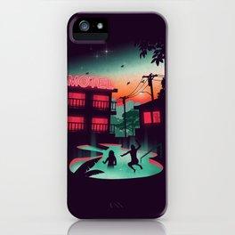 Night Swim iPhone Case