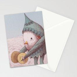 Cymbal Bird Stationery Cards