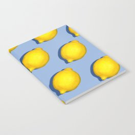 Yellow Lemons Notebook