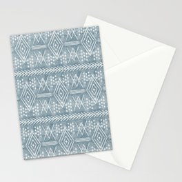 vintage moroccan - dusty blue Stationery Cards