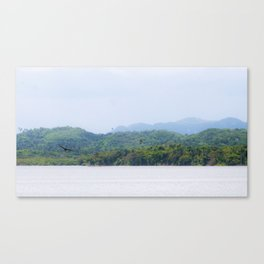 Tropical Life Canvas Print