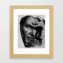 Harrison Ford Framed Art Print