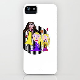 Girls by Elisavet | Friends #society6 iPhone Case