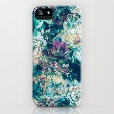 Frozen Flowers iPhone SE Slim Case