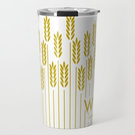 Tall Wheat Travel Mug