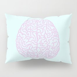 Pastel Brain Pillow Sham