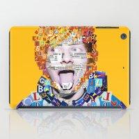 ed sheeran iPad Cases featuring Ed Sheeran by Jack