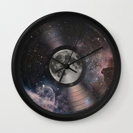 L.P. (Lunar Phonograph) Wall Clock