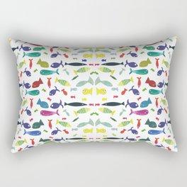 Happy colourful fish  Rectangular Pillow