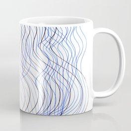 Waves Lines Coffee Mug